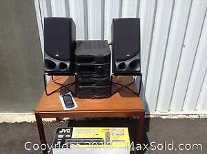 JVC Mini System Stereo And VHS Player