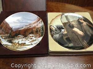 Collector Plates, COAs. A