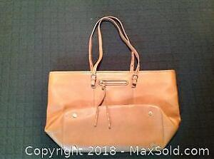 Brown Danier Leather Tote Bag