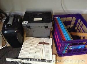 Shredder, Paper Cutter and More. A