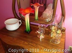 Lamps And Vase A