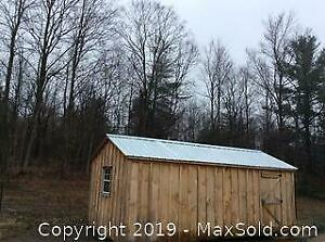 10 Ft X 20 Ft Amish Shed