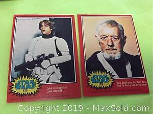 197 Star Wars Trading Cards