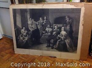 Vintage Lithograph Print Issued Jan 16 1888 A