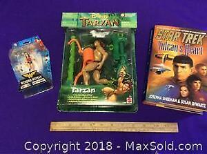 Star Trek, Tarzan, Wonder Woman Lot