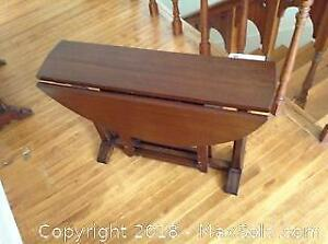 Double Drop Leaf Side Table