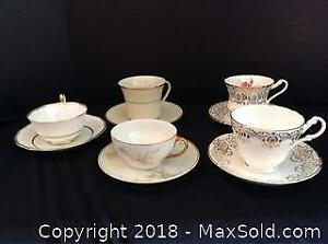 Tea Cups and Saucers Lot 1 A