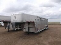Wilson Ranch Hand Gooseneck Stock Trailers