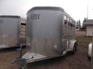 Maverick Lite 2 Horse Trailer All Aluminum