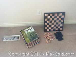 Chess And Magazines- A
