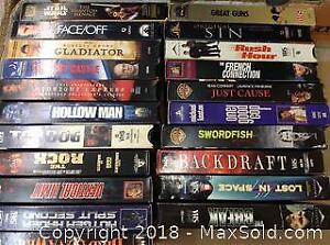 21 VHS Movie Tapes