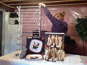 SHOE RACK CHRISTMAS DECORATIONS