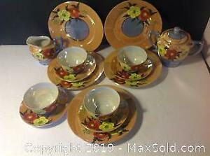 15 Pcs Vintage Tea Set Made In Japan