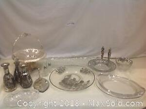 Glass and Silver Lot