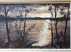 James Lorimer Kierstead Oil Painting