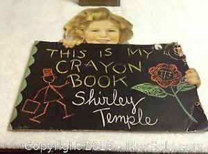 1935 Shirley Temple Colouring Book.