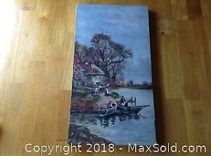 Oil Painting On Canvas A
