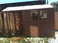 14x4 aviary/shed