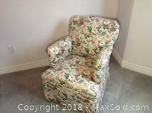 Upholstered Arm Chair B