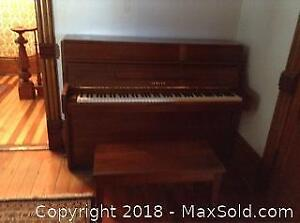 Piano And Bench C