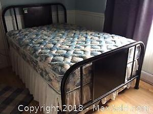 Metal Double Bed Frame C