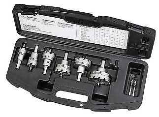 Ideal - 36-314 Tko Carbide Tipped Hole Cutter W6 Piece Master Electricians Kit
