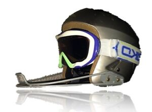 BRIKO Ski Helmet w/ Slalom Guard and Goggles