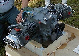1/2 VW Plans Engine VW AIRCRAFT ENGINE CONVERSI,PLANS