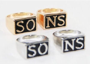 (SOLD )Sons of anarchy rep/fashion rings