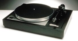 wanted high end audiophile turntable Linn Michell roksan rega project Nottingham analogue etc