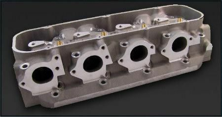 Pro Filer 174-29-13 Bbc Sniper Aluminum Cylinder Heads, Pair, Bare