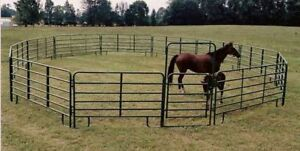 60' round pen Horse Corral - Gray Behlen Country (used)