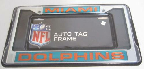 Miami Dolphins License Plate Ebay