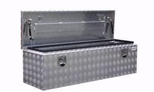 Aluminium Drawbar Toolbox for Camper Trailer or Caravan 2mm Alum Banyo Brisbane North East Preview