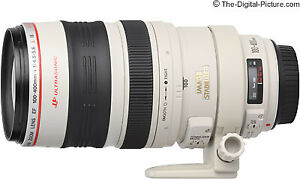 Canon EF 100-400mm telephoto lens
