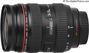Canon EF 24-70mm f/2.8L USM Lens -  UltraSonic andGood Condition