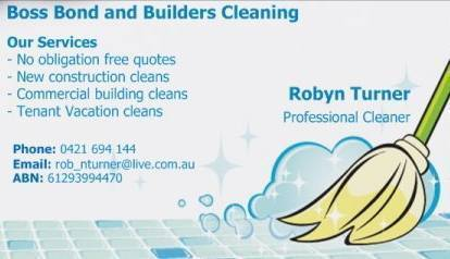 Bond and Builders Cleaning