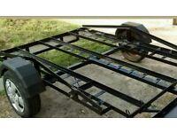 MotorBike trailer,tow bar moto x motorcycle