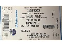 SHAWN MENDES TICKET