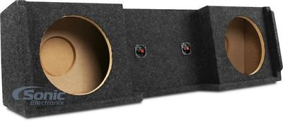 """ATREND Dual 12"""" Subwoofer Enclosure for 99-07 Chevy/GMC Trucks 
