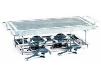 Food Grill in with Marble Stone and 2-Burners - still boxed - never used