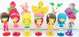 *STRAWBERRY SHORTCAKE Figure Set PVC TOY Cake Topper LEMON MERINGUE Berrykins!*