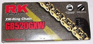 RK O-Ring Drive Chain GB520GXW 120Links New