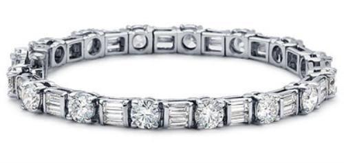 Baguette Diamond Tennis Bracelet Ebay