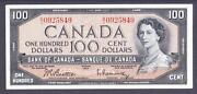 Canadian 100 Bill