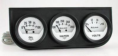 AutoMeter Autogage Oil Pressure, Voltmeter & Water Temp. Gauges 2324