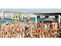 X1 hide out festival ticket Croatia