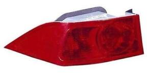 2004-2005 Acura TSX Tail Light Driver Side High Quality
