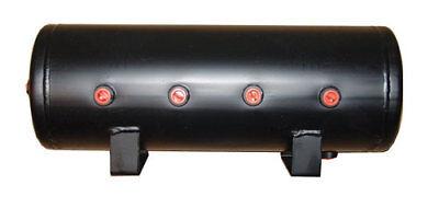 9 Gallon Steel Air Tank 8 Port Air Bag Suspension Train Horn Air Ride Kit