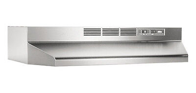 "Broan 413004 Stainless Steel 30"" Non-ducted 2-Speed Control Range Hood New on Rummage"